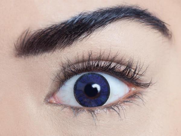 MesmerEyez - Royal Blue   roční 2 čočky - barevní čočky