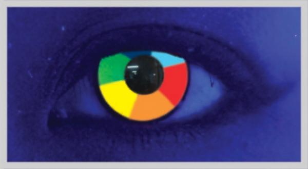 MesmerEyez - Rainbow UV 2 čočky - crazy čočky
