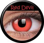 MaxVue Vision ColourVUE - Red Devil 2 čočky - crazy čočky