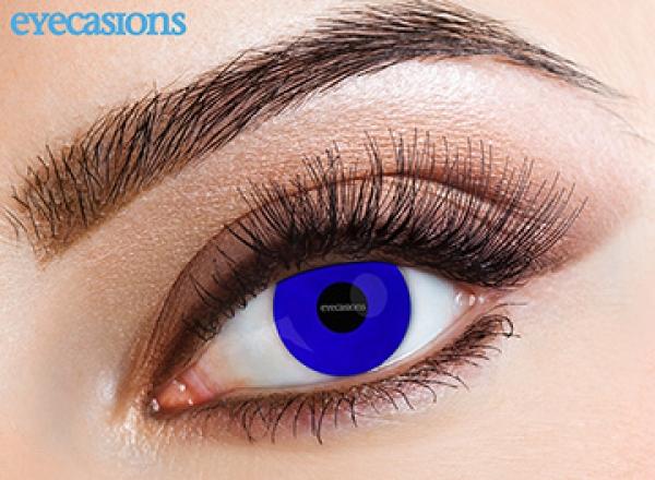 Eyecasions - Electric Blue | mesačné + 60ml roztok + púzdro zadarmo