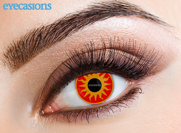 Eyecasions - Sunburst | mesačné + 60ml roztok + púzdro zadarmo