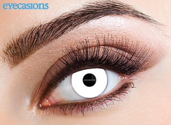 Eyecasions - Zombie | měsíční + 60ml roztok + pouzdro zdarma