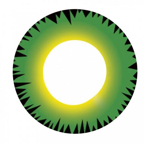Eyecasions - Hulk 2 čočky - crazy čočky