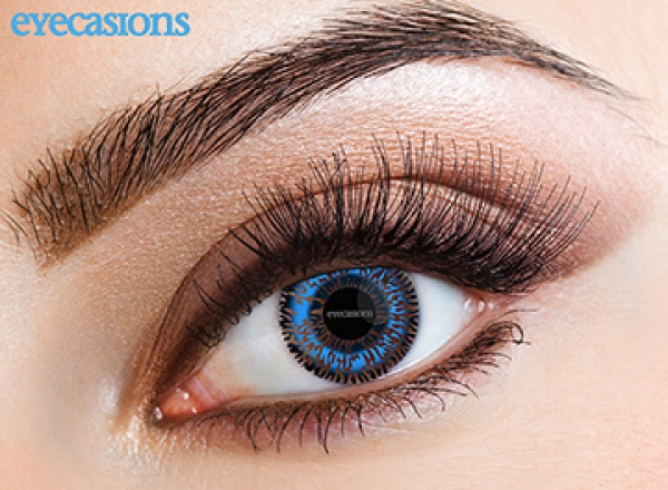 Eyespy - Two Tone Blue | mesačné + 60ml roztok + púzdro zadarmo
