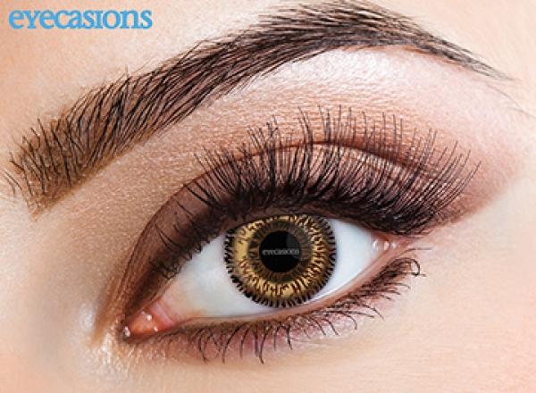 Eyecasions - Two Tone Hazel | egyhónapos + ingyenes tok + 60ml ápolófolyadék