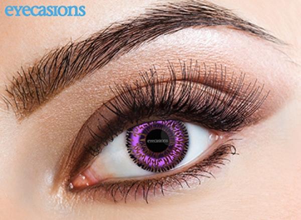 Eyecasions - Two Tone Violet | mesačné + 60ml roztok + púzdro zadarmo