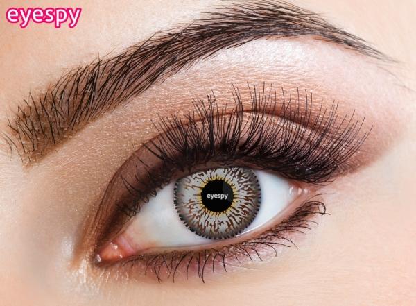 Eyespy - Three Tone Grey | mesačné + 60ml roztok + púzdro zadarmo