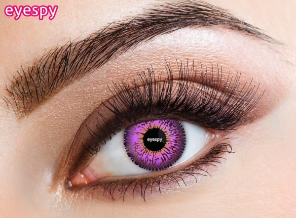 Eyespy - Three Tone Violet | mesačné + 60ml roztok + púzdro zadarmo