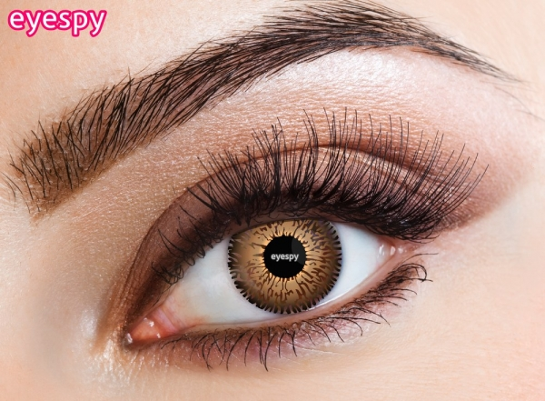 Eyespy - Three Tone Honey | egyhónapos + ingyenes tok + 60ml ápolófolyadék