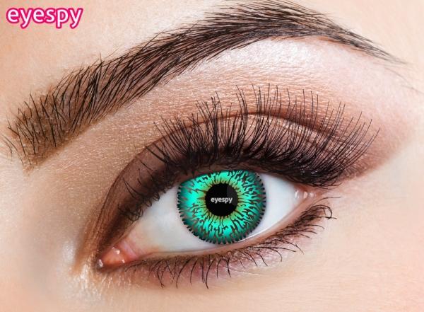 Eyespy - Three Tone Aqua | mesačné + 60ml roztok + púzdro zadarmo