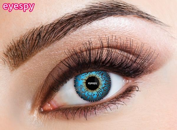 Eyespy - Three Tone Blue | měsíční + 60ml roztok + pouzdro zdarma