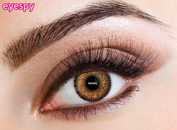Eyecasions Eyespy - Honey 2 čočky - barevní čočky