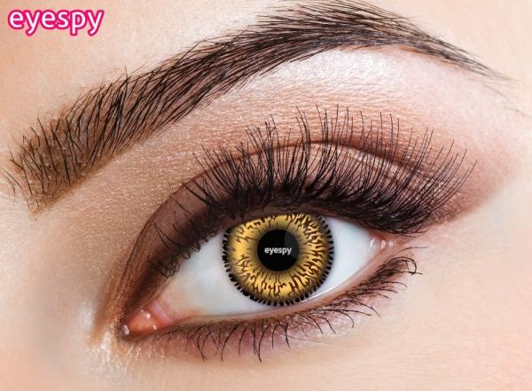 Eyecasions Eyespy - Hazel 2 čočky - barevní čočky