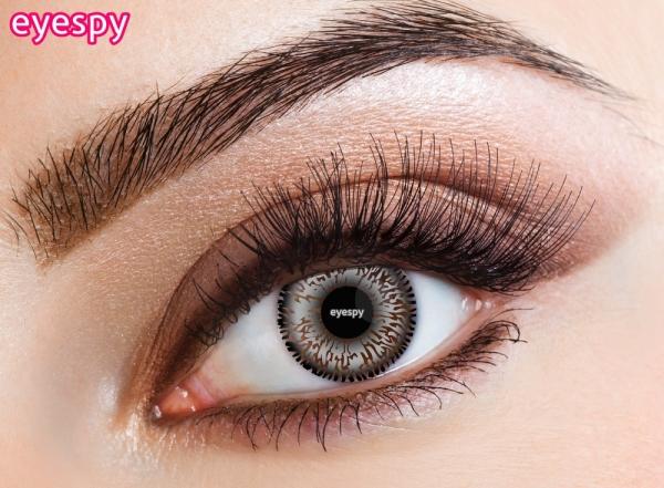 Eyecasions Eyespy - Grey 2 čočky - barevní čočky