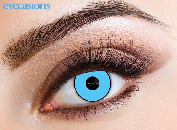 Eyecasions - Blue Manson | měsíční + 60ml roztok + pouzdro zdarma
