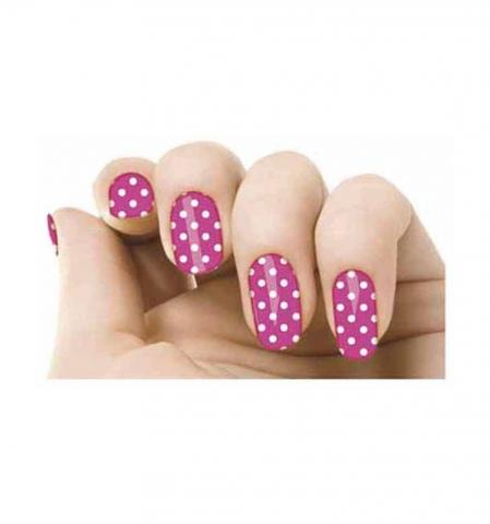 Samolepky na nehty - Pink flamenco