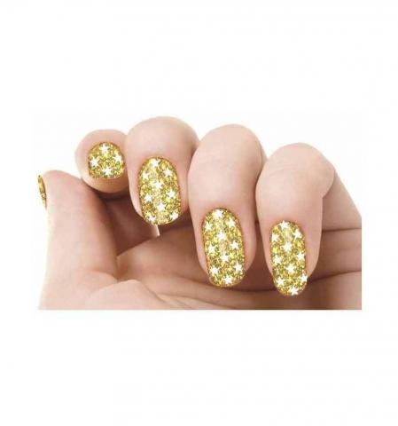 Samolepky na nechty - Golden
