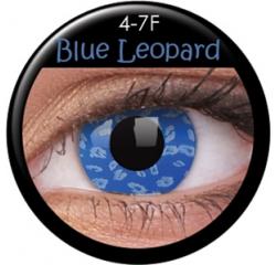 MaxVue Vision ColourVUE - Blue Leopard 2 čočky - crazy čočky