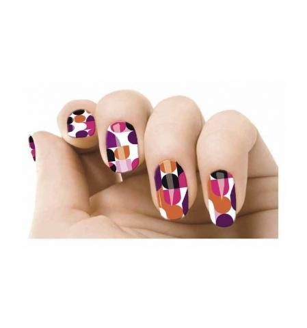 Samolepky na nehty - Pop art