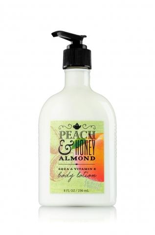 Bath&Body Works Bath&Body Works - Tělové mléko PEACH & HONEY ALMOND 236 ml