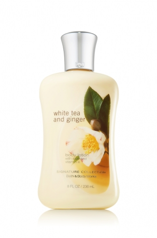 Bath&Body Works Bath&Body Works - Tělové mléko WHITE TEA AND GINGER 236 ml