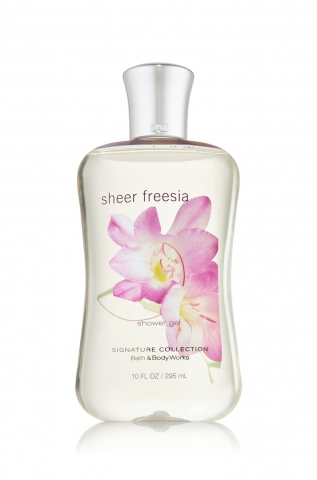 Bath&Body Works Bath&Body Works - Sprchový gel SHEER FREESIA DUPLI 295 ml