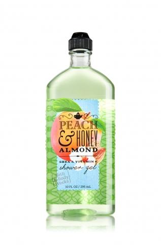 Bath&Body Works Bath&Body Works - Sprchový gel PEACH & HONEY ALMOND 295 ml