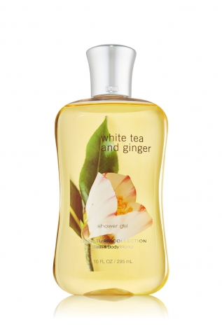 Bath&Body Works Bath&Body Works - Sprchový gel WHITE TEA AND GINGER 295 ml
