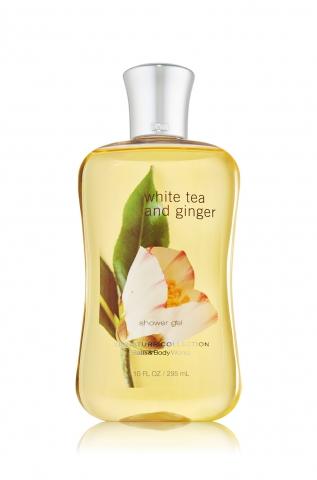 Bath&Body Works Bath&Body Works - Sprchový gel WHITE TEA AND GINGER 295 ml
