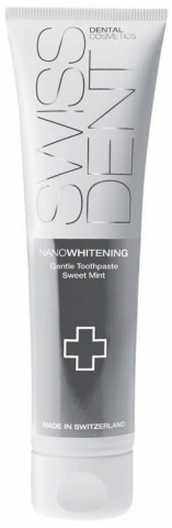 SWISSDENT Nano bělicí jemná pasta na zuby 100 ml