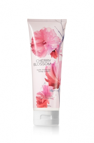 Bath&Body Works Bath&Body Works - Tělový krém CHERRY BLOSSOM 226 g