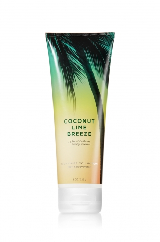 Bath&Body Works Bath&Body Works - Tělový krém COCONUT LIME BREEZE 226 g