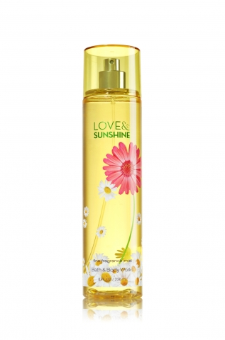 Bath&Body Works - Tělový sprej LOVE&SUNSHINE