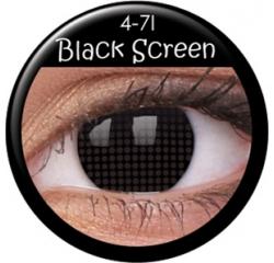 MaxVue Vision ColourVUE - Black Screen 2 čočky - crazy čočky