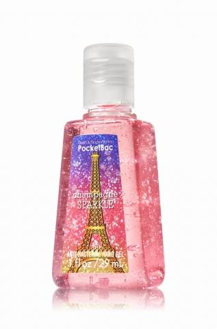 Bath&Body Works CHAMPAGNE SPARKLE Dezinfekční gel na ruce 29 ml 29 ml