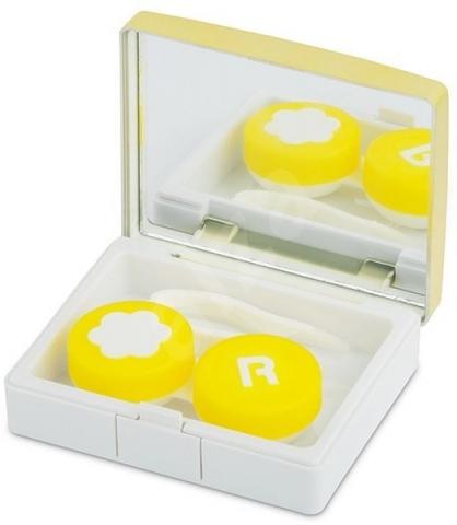 Kazetka zlatá: puzdro, pinzeta a zrkadlo