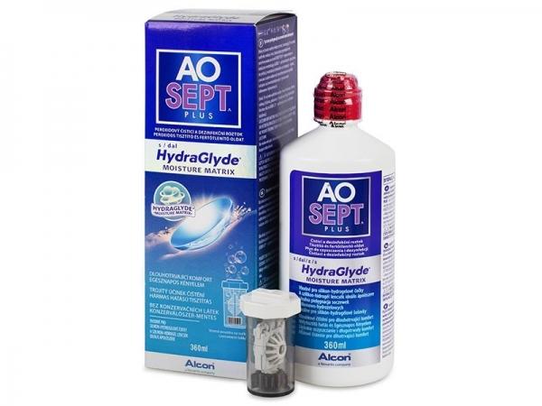 AO Sept Plus 360 ml s Hydraglyde + púzdro na šošovky