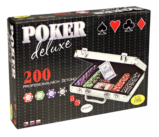 Sada na poker Deluxe