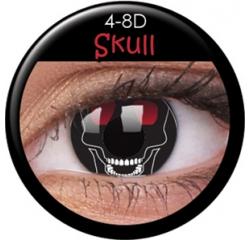 MaxVue Vision Skull 2 čočky - crazy čočky