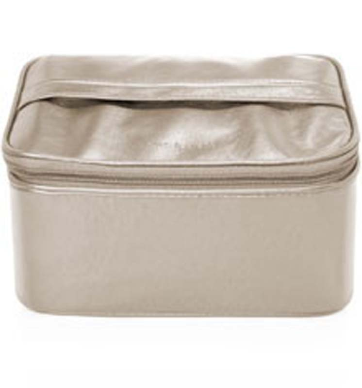 E.l.f Essential Kosmetický kufřík Silver