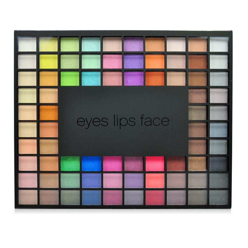 E.l.f Studio Endless Eyes Pro Eyeshadow Paleta - 100 kusů Limited Edition 110 g