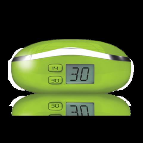 Optipak Pouzdro na kontaktní čočky - digitální - zelené