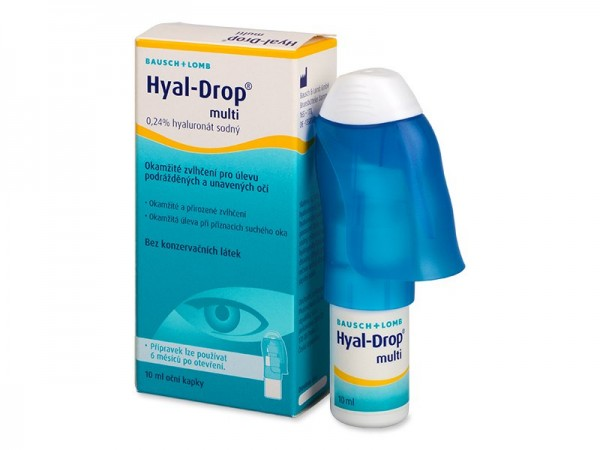 Bausch & Lomb Hyal-Drop multi 10ml