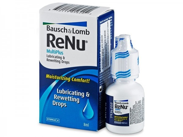 ReNu MultiPlus Lubricating & Rewetting Drops szemcseppek