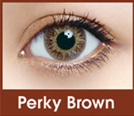 FreshKon Colors Fusion - Perky Brown | mesačné