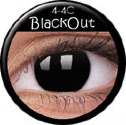MaxVue Vision ColourVUE - BlackOut | dioptrické - dioptrie: -3.50, zakřivení: 8.60, průměr: 14.00