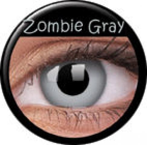 MaxVue Vision ColourVUE - Zombie Grey | dioptrické - dioptrie: -3.50, zakřivení: 8.60, průměr: 14.00
