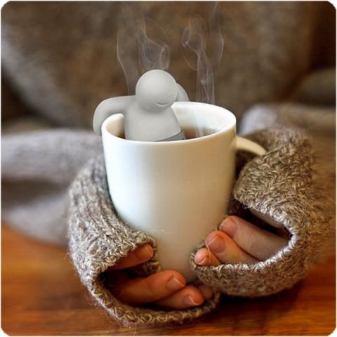 Pan Čajový - silikonové sítko na čaj