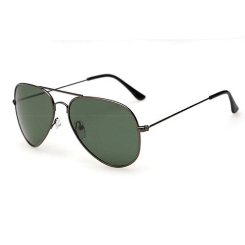 Sluneční brýle Aviator - tmavě šedé