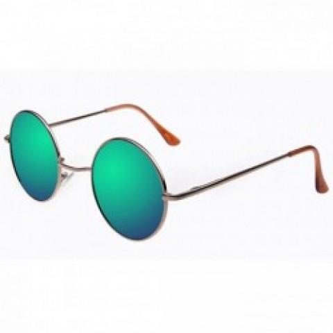 Lenonky - zlaté - modro-zelené sklá - Slnečné Okuliare ... 481fdfa9eaa